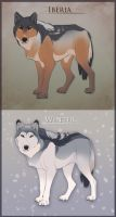 Natural Wolf Adopts (points) by Tazihound