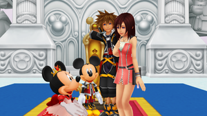 You Always Here to Welcome in Disney Castle Kairi by 9029561