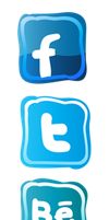 Hiccup Social Media Icons by nelsopotato