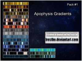 Apophysis Gradient PACK 1 by FrostBo