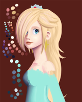 Rosalina WIP... Not really by smashsweetie