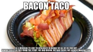 Bacon Taco by Rosauralc
