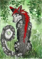 ACEO Eleweth by Woodswallow