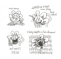 But nobody laughed by BloomySunshine