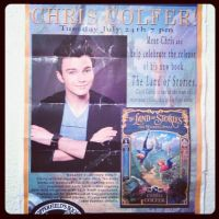 Chris Colfer Poster by Before-I-Sleep