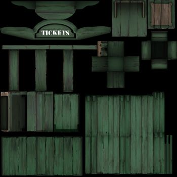 Ticket Booth Greenwood by benster58