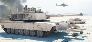 m1a2 Abrams by rOEN911