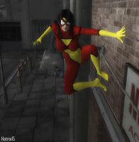 Spider-Woman 03 by hotrod5