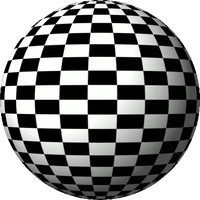 60 frame chessboard spinning globe by 10binary