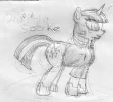 Twilight Sparkle Pencils by Nogistune
