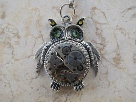 Steampunk Owl by LsUnique
