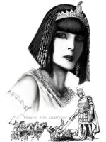 Cleopatra by artaquilus