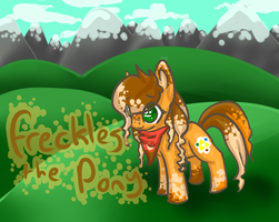 pony in teh derpy field of life yo by Freckled-Kat