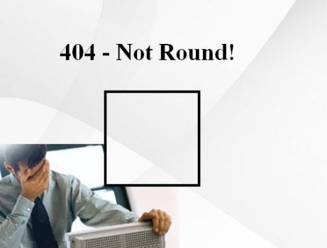 404 Not Round by SilverToaster