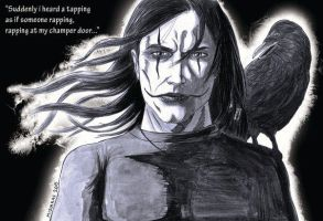 Eric Draven : The Crow by MisiakasVasileios