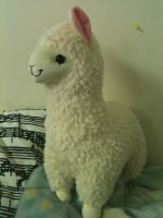 Llama Plush! by Ayleia-The-Kitty