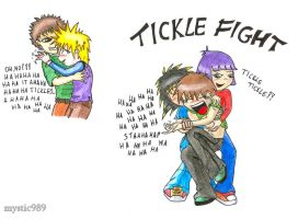 Tickle fight 01 by mystic-touch