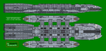 Colonial class Battlestar Ares by XRaiderV1