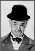 Stan Laurel by Sekhmets-child