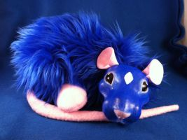 Fantasy Rat Plush by graveatart