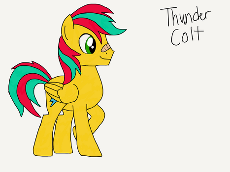Thunder Colt by hurricanethedragon