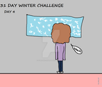 31 Day Winter Challenge - Day 4 by Cupcake-Angels