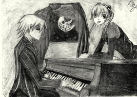 Maka and Soul 2 by Amycah