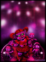 Baby And The Bidybabs by YingYang48