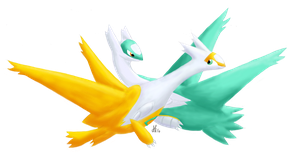 Latios And Latias (Shiny) by Windsinger