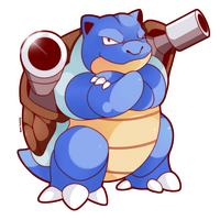 COMMISSION: Blastoise