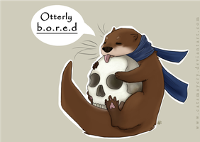 Otterly bored by catsmaycry