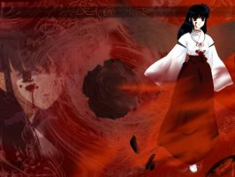 evil kagome by sweetkagome123