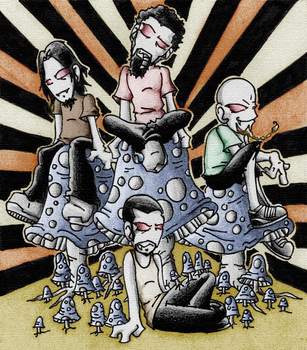 Soad Shrooms by Uberspot