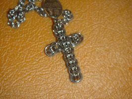 Rosary Cross by montanaflash23