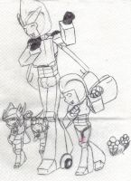Fun with uncle Drome XD by G1-Ratbat