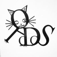 Typography Cat by Wasabitheunicorn