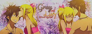 Fairy Tail ` Gray and Lucy [TLC] by JamesxpGFX