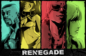 RENEGADE groovy poster by DavyWagnarok