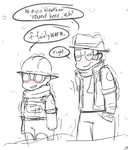 Kinda Chilly, Don'tcha Think? by Cakeu-chan89