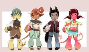 Daiji Monster Boys/Girl Adopts! {Closed} by C-ren