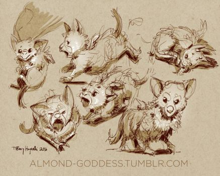 Trico Juniors by almond-goddess