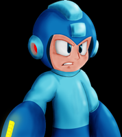 MegaMan Crapped Himself by iSlick