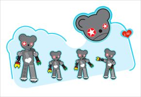 Bionic Bear Dance by ladysnowbloodz