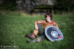 Hiccup cosplay by Sherlockian