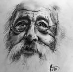 Old man by WolfOfHorror