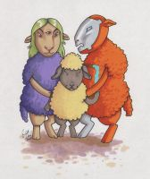 Sheep Haters by angelacapel