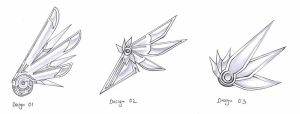 Mechanical Wings Design by aesthetica