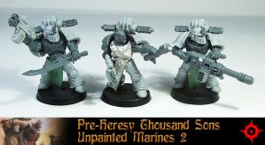 Pre-Heresy Thousand Sons 2 - UP by Proiteus