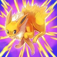 giftmas 2011 JOLTEON used DISCHARGE by Zilleniose