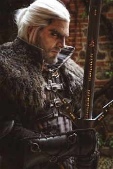 Geralt of Rivia - The witcher 3 - 3 by Link130890